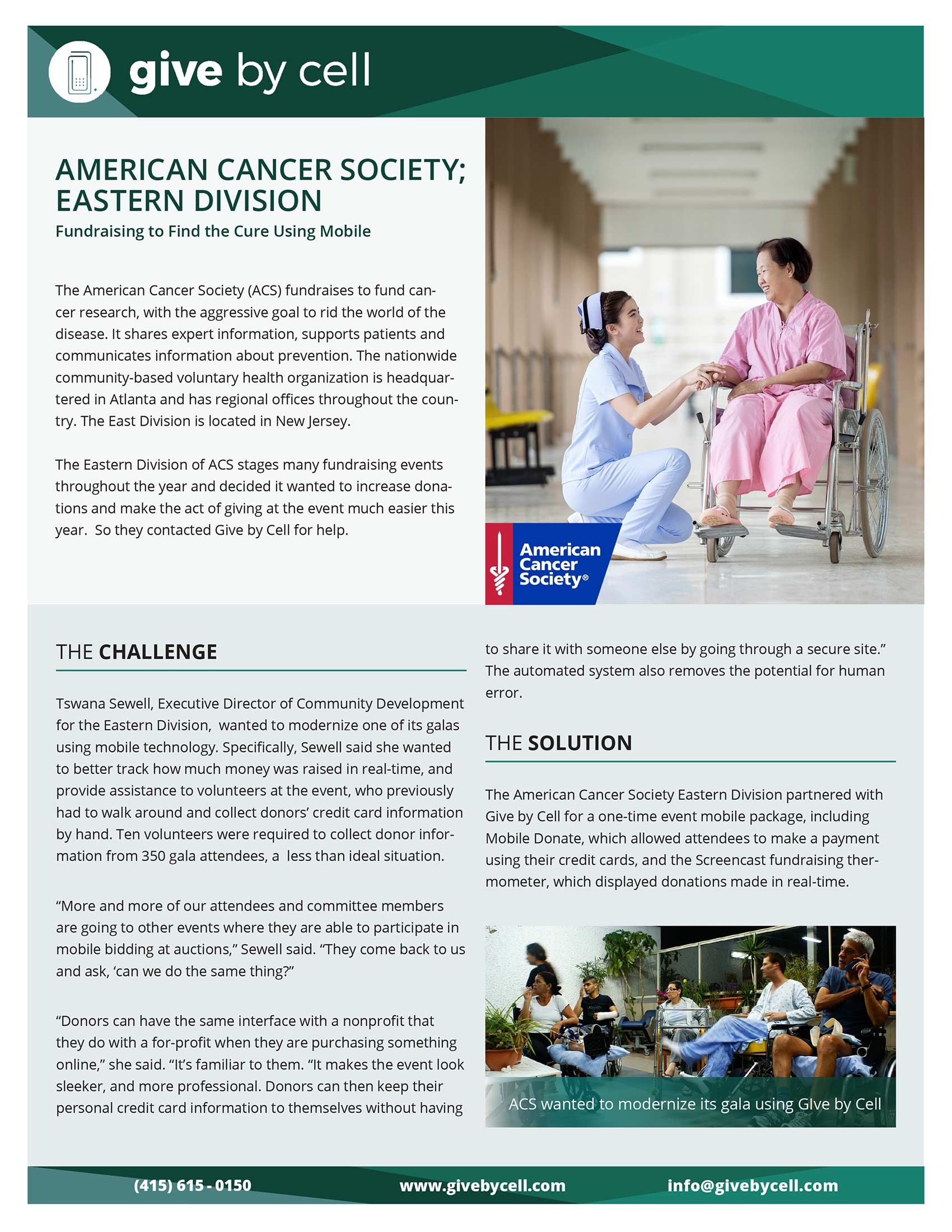 American Cancer Society; Eastern Division