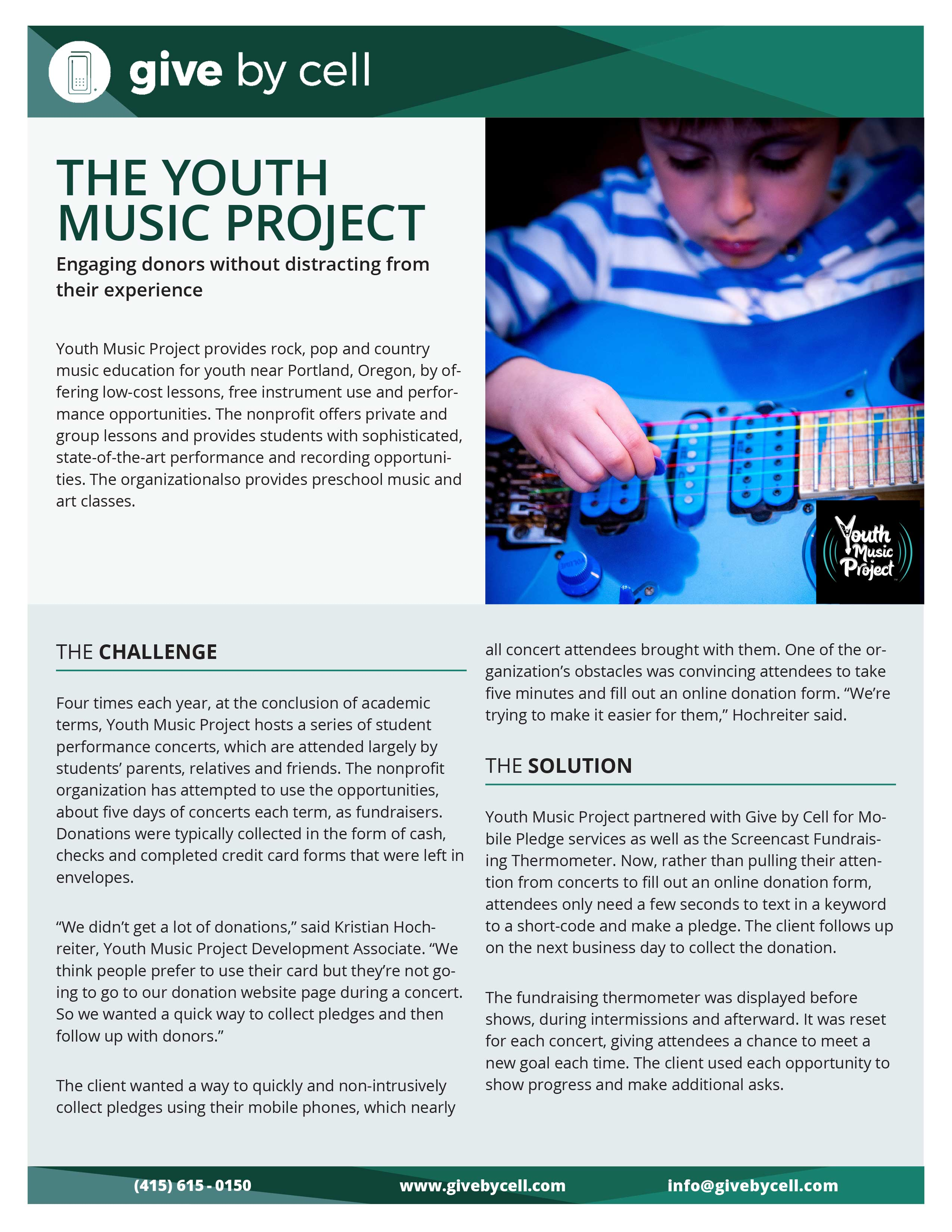 The Youth Music Project