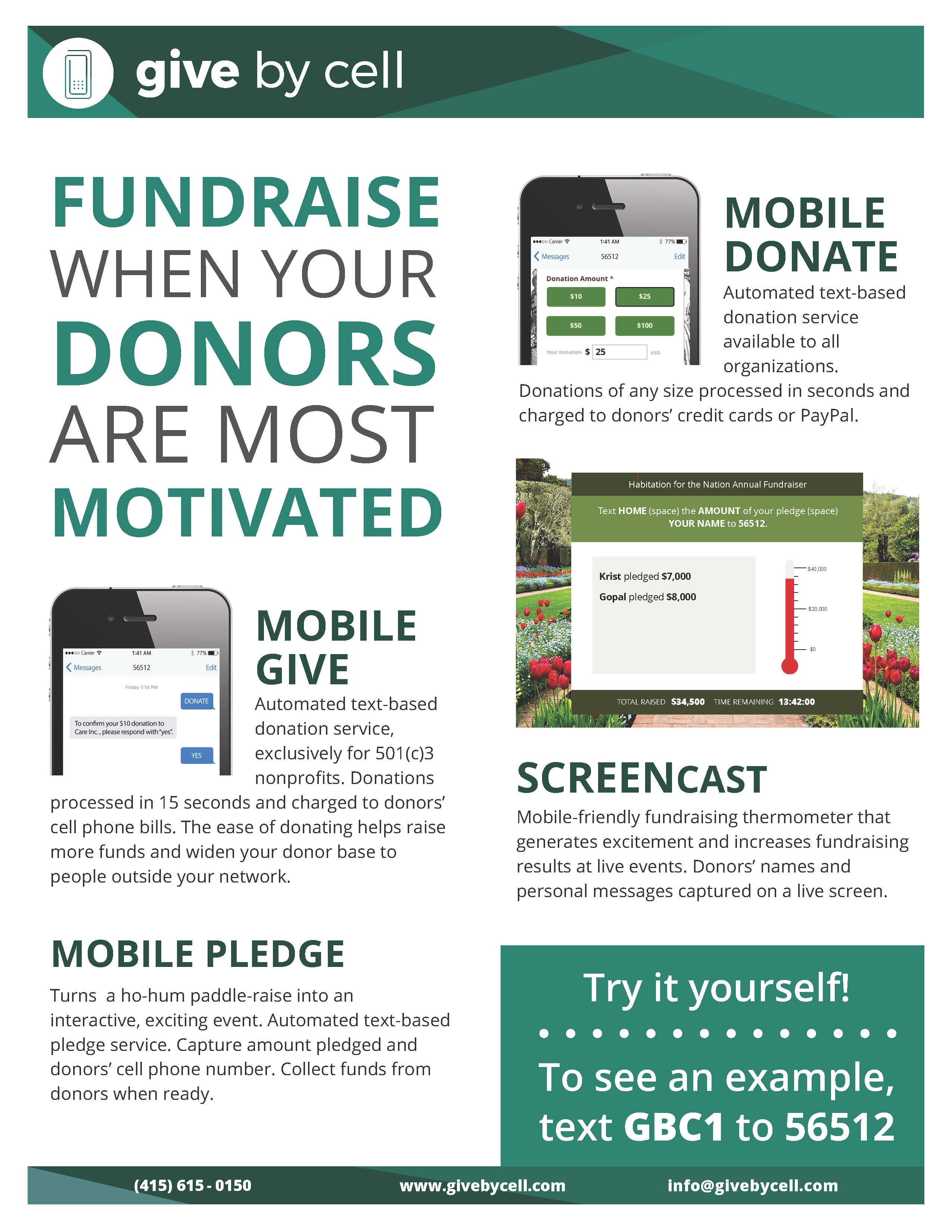Give-Fundraise WhenDonorsMotivatedPage