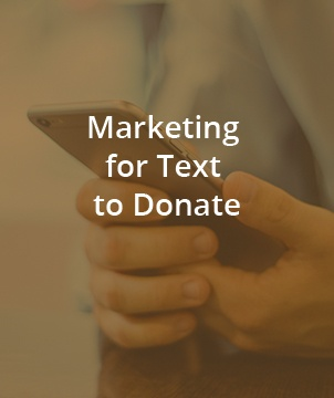 Marketing (Text to Donate)