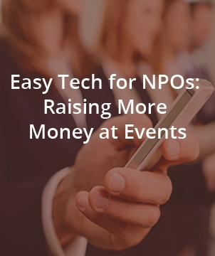 Easy Tech for NPOs: Raising More Money at Events