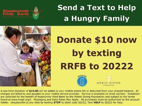 full_Roadrunner Food Bank - promo card